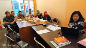 Pelaksanaan FGD PPID dalam penyusunan DIP Pemkab Wonogiri tanggal 28 Januari s.d 20 Februari 2020